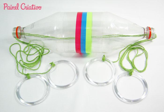 como fazer brinquedo criancas vai e vem garrafa pet reciclagem divertida (4)