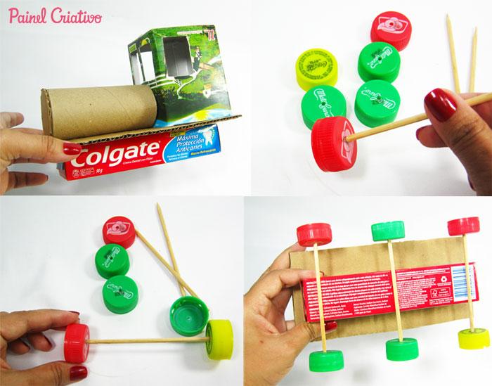 como fazer trenzinho reciclado criancas (2)