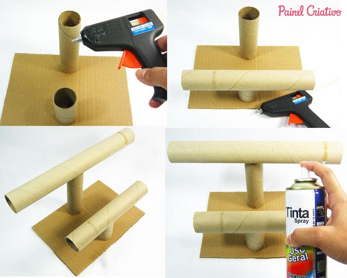 passo a passo porta pulseira colares tubos papelao reciclagem (2)