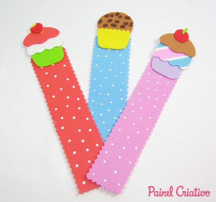 lembrancinha marcador de pagina menininha menininho cupcake (2)