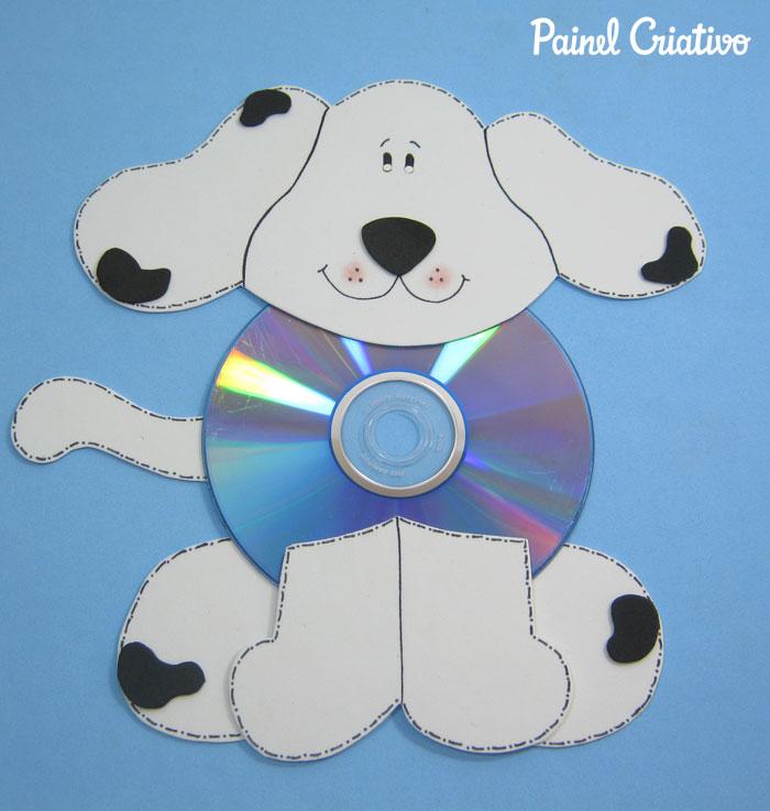 como fazer bichinhos cachorrinho abelhinha sapinho joaninha eva cd usado reciclagem (1)