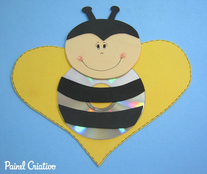 como fazer bichinhos cachorrinho abelhinha sapinho joaninha eva cd usado reciclagem (2)