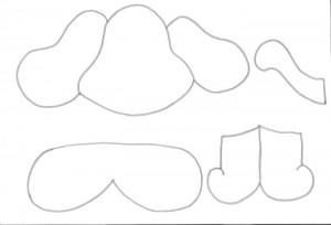 como fazer bichinhos cachorrinho abelhinha sapinho joaninha eva cd usado reciclagem (9)