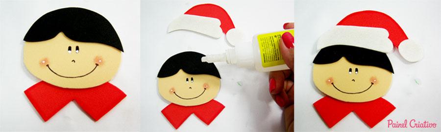 como fazer lembrancinha natal eva alunos escola porta guloseimas (1)