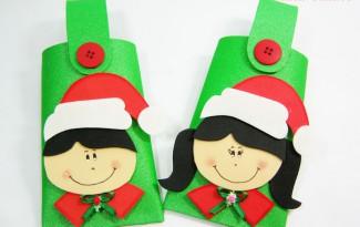 como fazer lembrancinha natal eva alunos escola porta guloseimas (5)