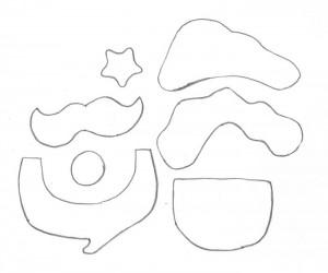 como fazer pote vidro decorado natal reciclagem eva papai noel rena boneco de neve (4)