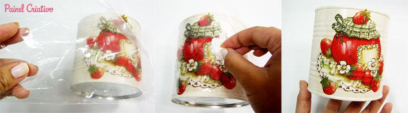 como fazer decoupage latinha decoracao cozinha reciclagem (4)