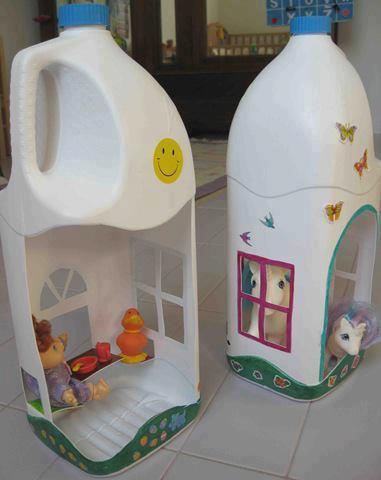brinquedos reciclados criancas embalagem plastica pregador roupa  (6)