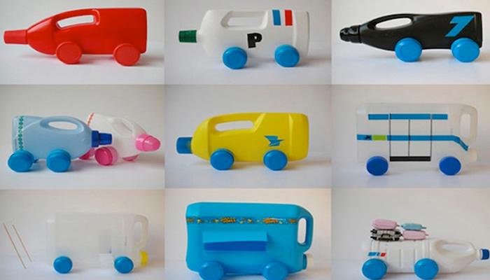 brinquedos reciclados criancas embalagem plastica pregador roupa  (7)