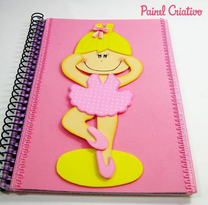 capa caderno escolar bailarina eva menina  (1)
