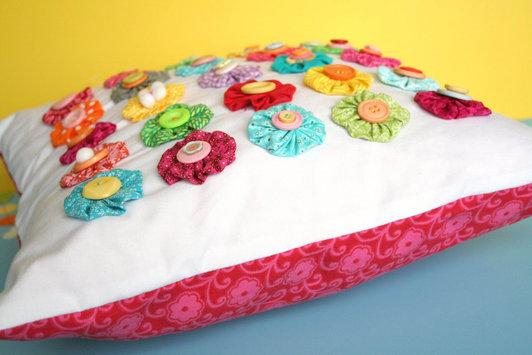 como fazer almofada fuxico decoracao casa  (8)