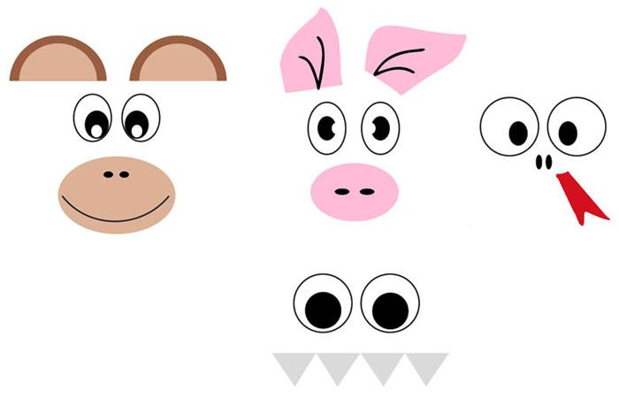 ideias marcador pagina bichinhos sapinho porquinho macaquinho lembrancinha escola  (4)