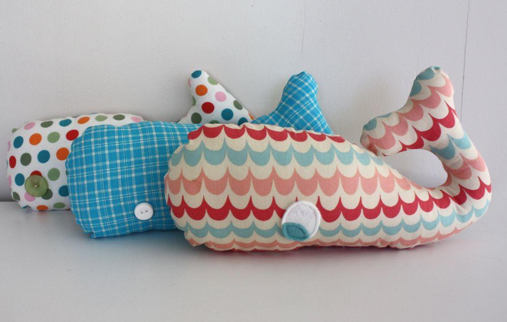 como fazer bichinhos baleia tecido (2)