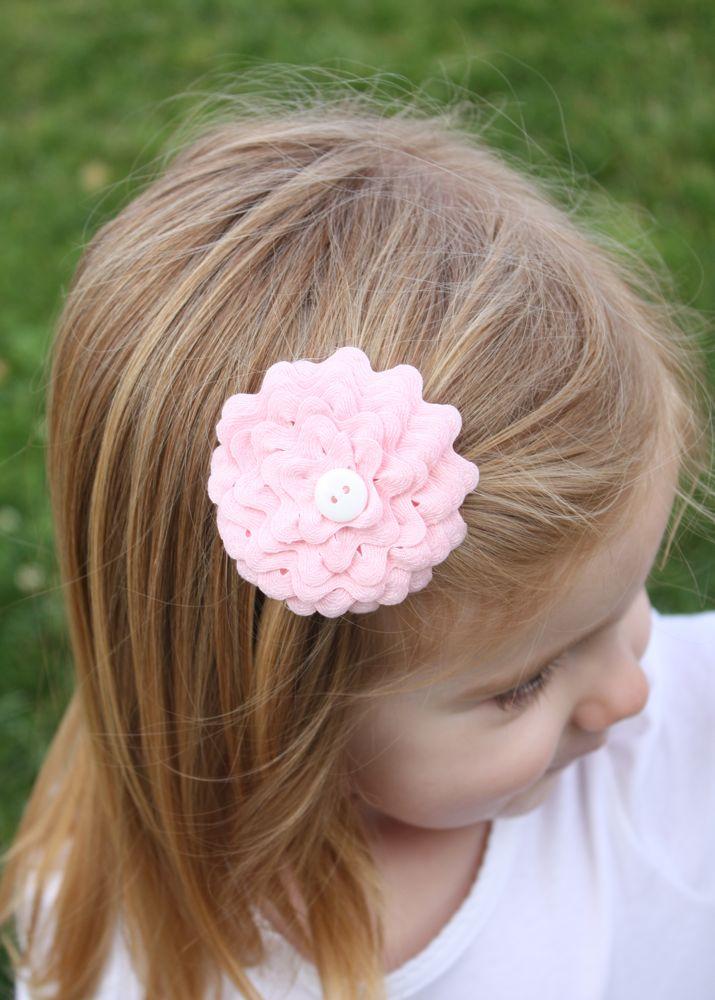 como fazer enfeite cabelo flor sianinha meninas (2)