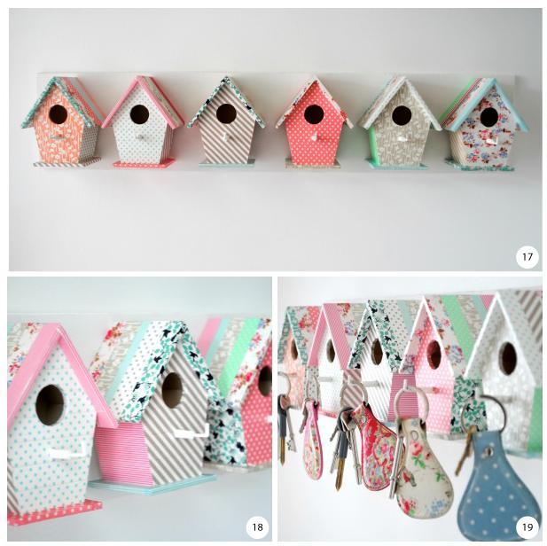 como fazer porta chaves deoracao casinha passarinho mdf (5)