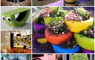 como reaproveitar pneu velho decoracao casa jardim (1)