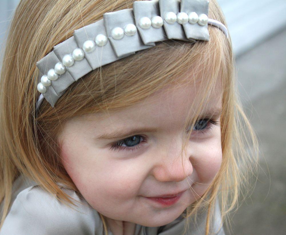 enfeite cabelo tiara tecido menina