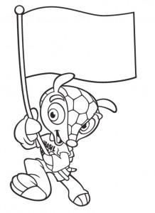 desenhos colorir copa do mundo brasil mascote fuleco (4)