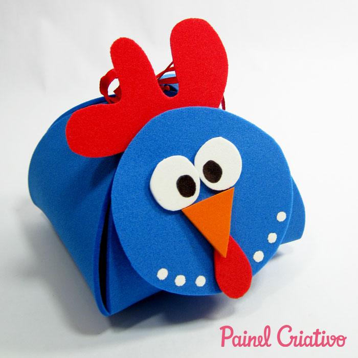 modelo lembrancinha galinha pintadinha porta bombom eva festa aniversario crianca (7)