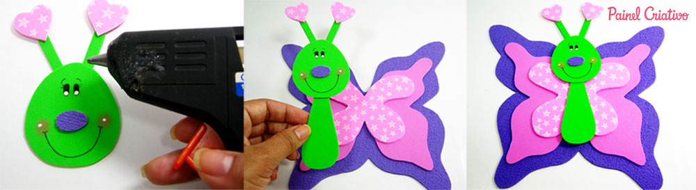 como fazer borboleta eva decoracoa sala de aula paineis lembrancinha escola festa infantil (3)