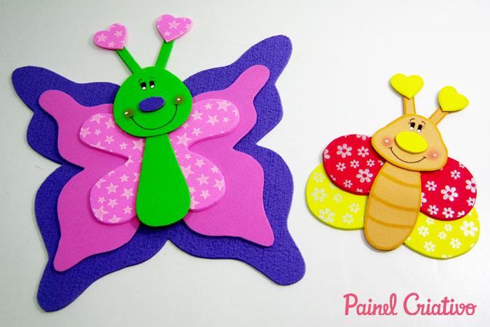 decoracao sala de aula jardim encantado:como fazer borboleta eva decoracoa sala de aula paineis lembrancinha