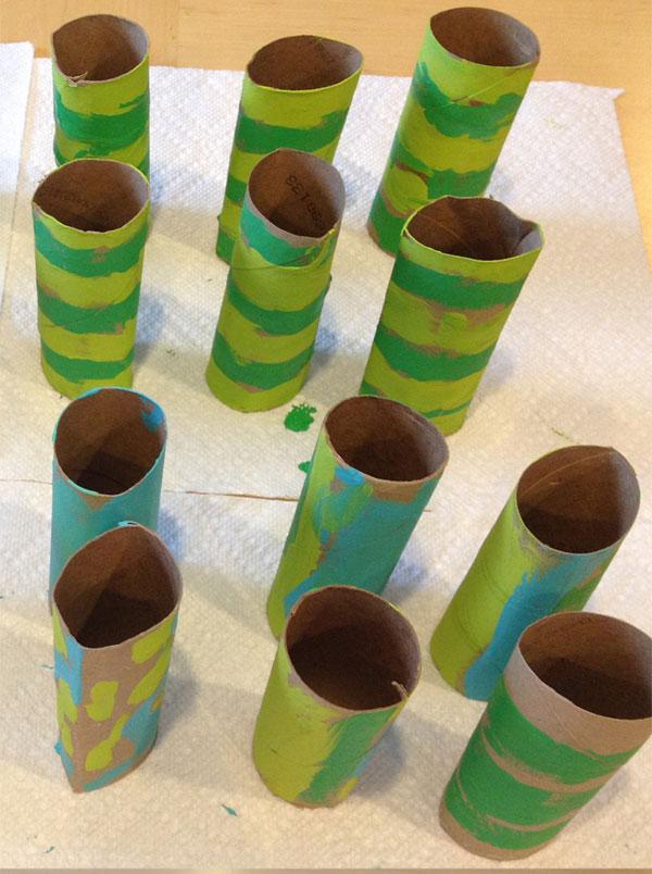 como fazer cobra rolinho papel higienico artes criancas (3)