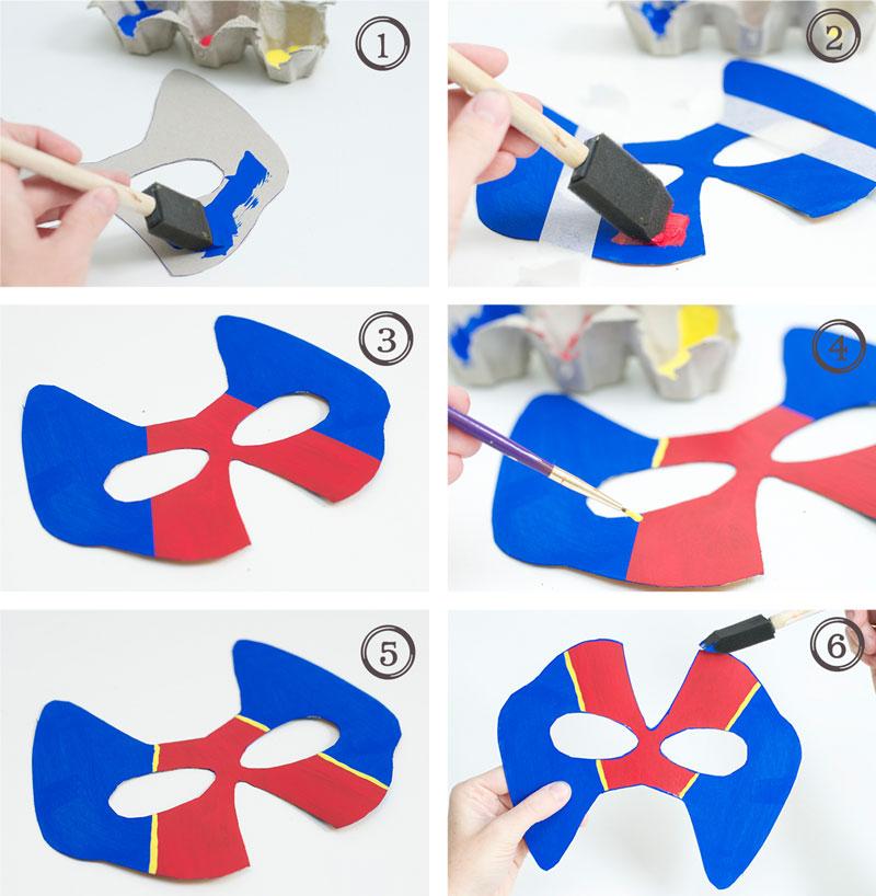 como fazer mascara super heroi caixa cereal papaelao criancas reciclagem (7)