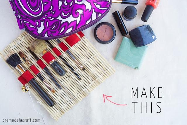 como fazer porta pinceis maquiagem pintura (1)