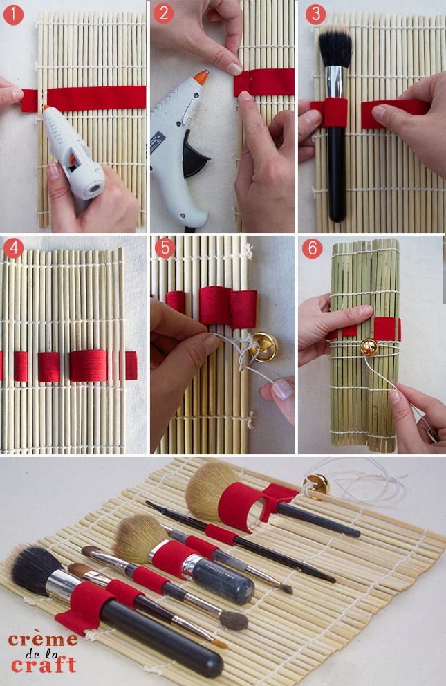 como fazer porta pinceis maquiagem pintura (2)