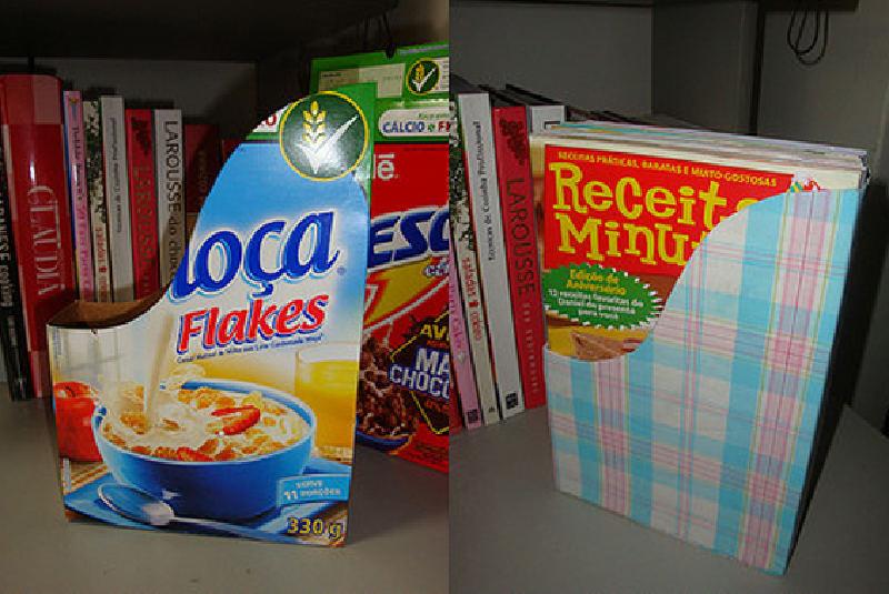 como fazer porta revistas caixa cereal reciclagem (1)