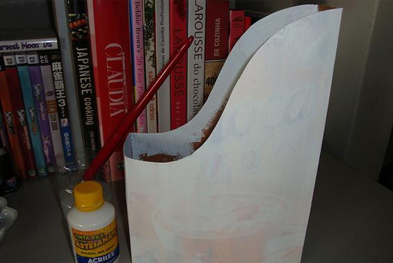 como fazer porta revistas caixa cereal reciclagem (4)