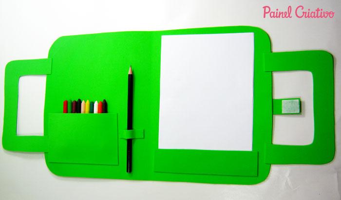 modelo lembrancinha bolsinha kit escolar eva ursinho criancas (2)