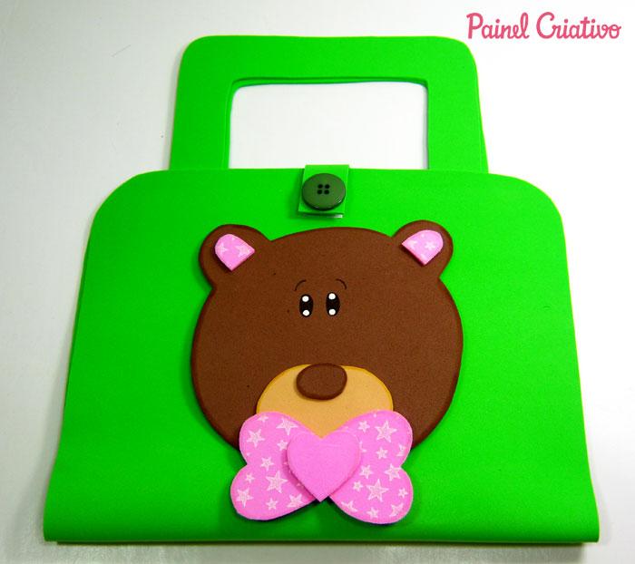 modelo lembrancinha bolsinha kit escolar eva ursinho criancas (3)