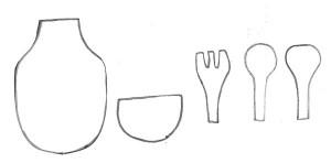 como fazer lembrancinha cha de cozinha panela eva mini avental ima de geladeira (4)