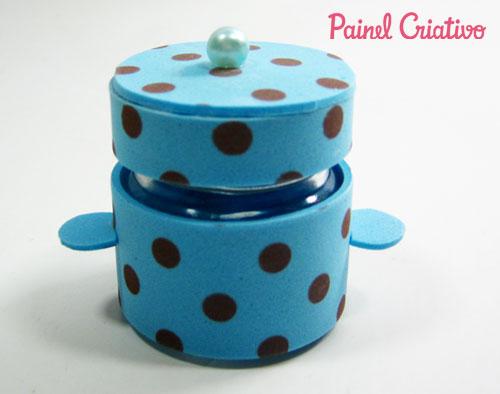 como fazer lembrancinha cha de cozinha panela eva mini panelinha porta confeti jujuba (5)