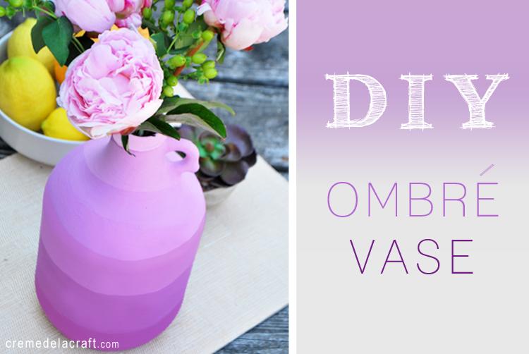 como fazer vaso de flore garrafa de vidro pintura degrade reciclagem decoracao casa (2)