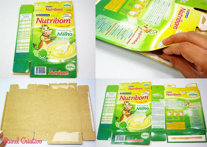 como fazer sacolinha presente natal reciclagem caixa cereal (1)