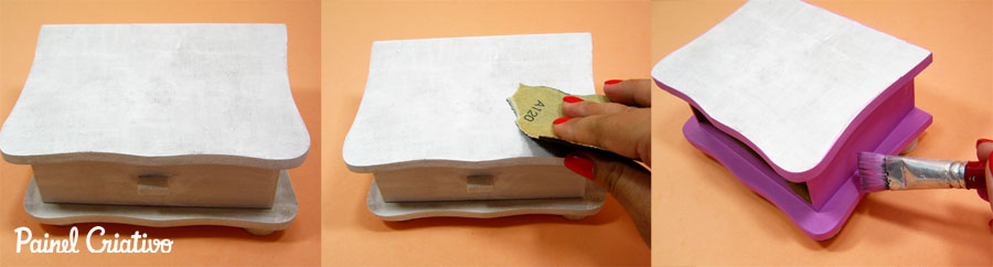 como fazer decoupage caixinha porta joia mdf  (2)