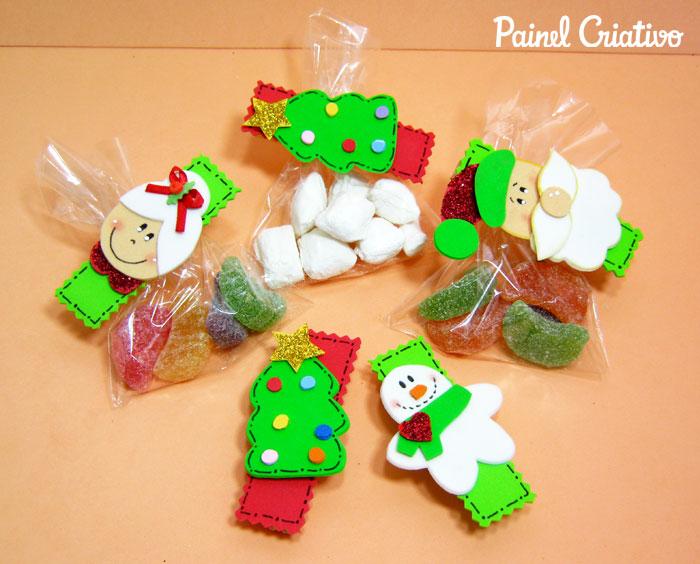 como fazer lembrancinha natal pregadores natalinos papai noel mamae noel arvore de natal boneco de neve (4)