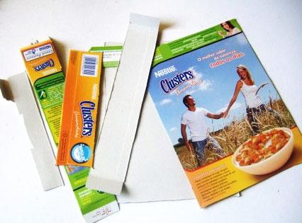como fazer enfeites natal reciclado caixa cereal decoracao arvore natal tag presentes (3)