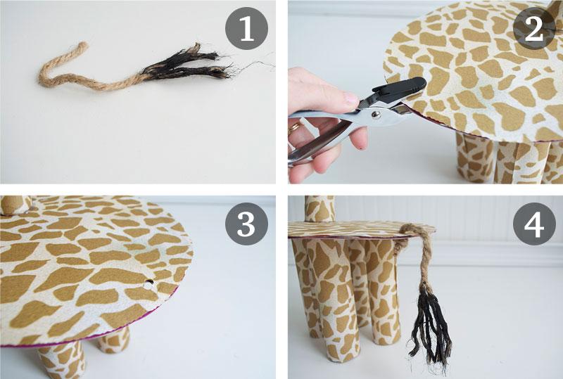 como fazer enfeite mesa aniversario infantil tema zoologico safari girafinha cupcake (6)