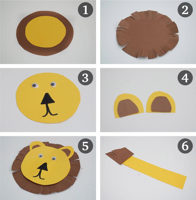 como fazer leaozinho caixa de cereal papel atividade alunos sala de aula educacao infantil reciclagem (3)