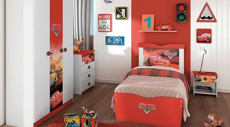 decoracao quarto menino casa desenho super herois carros  (5)