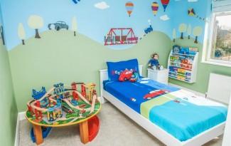 decoracao quarto menino casa desenho super herois carros  (7)