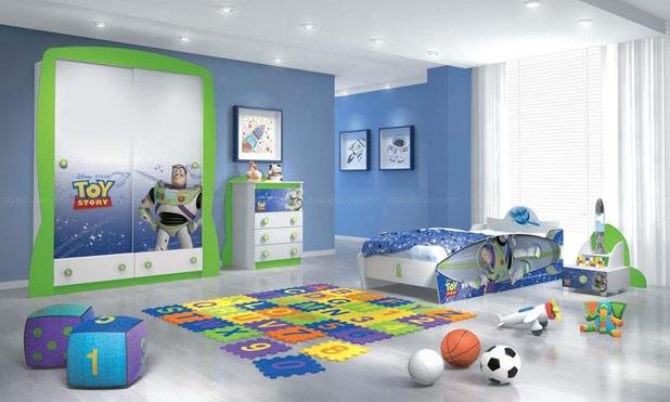 decoracao quarto menino casa desenho super herois carros  (8)