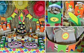 10 ideias decoracao festa junina anivesario festinha escola em casa (9)