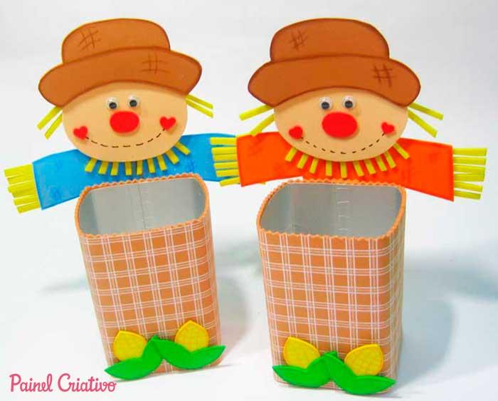 modelos lembrancinha festa junina eva decoracao escola reciclado caixinha leite  (5)