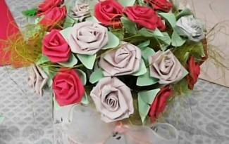 video como fzer florzinha papel lembrancinha dia das maes casamento batizado aniversario