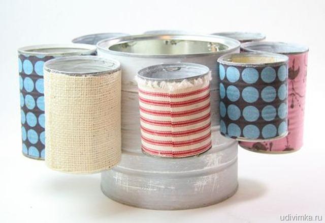 faca voce mesmo porta trecos lapis pincel latinhas recicladas (7)