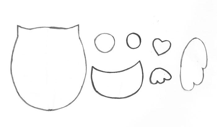molde como fazer pote vidro decorado eva cozinha corujinha (6)